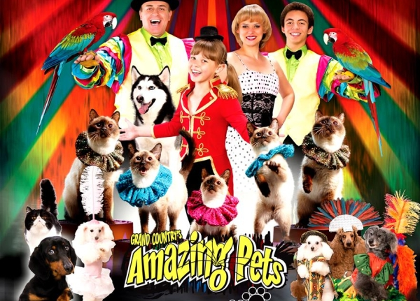 Branson's most popular animal show, Amazing Pets offers morning entertainment that the kids are sure to love!