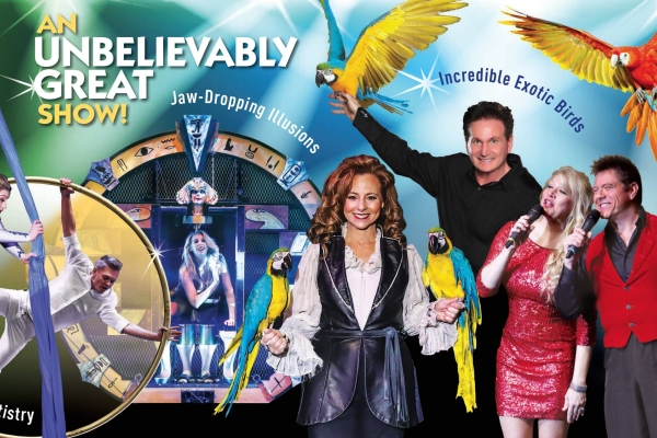 Featuring everything from magic and comedy to singing and dancing, Hamners' Unbelievable Variety Show is perfect for all ages!