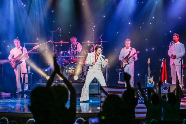Jerry Presley's Elvis LIVE! Show features gospel performances on select Sundays throughout the year.