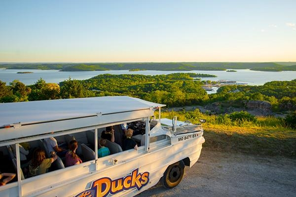 Take a tour of Branson and Table Rock Lake aboard one of Branson's famous duck rides!