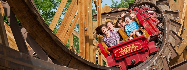 The theme park features more than 40+ roller coasters, rides, and attractions for all ages!