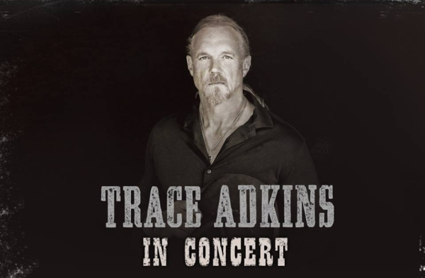 Country star Trace Adkins will perform a one-night concert in Branson at the Welk Resort Theatre on June 30, 2017