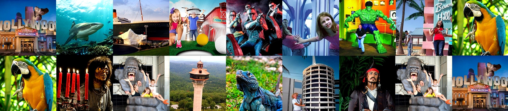Branson Attraction Pass offers up to 36% off some of the most popular attractions and things to do in Branson, Missouri!