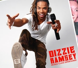 DJ Dizzie Ramsey hosts a street dance each night at 9:15 pm!