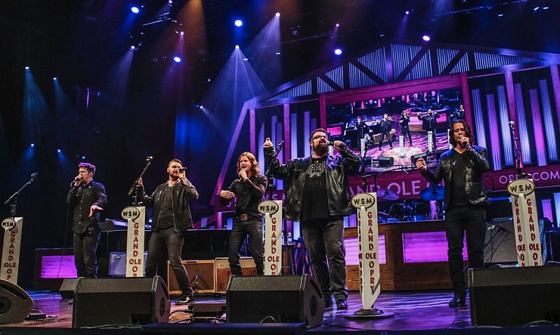 Home Free at their April 11, 2017 performance on The Grand Ole Opry.
