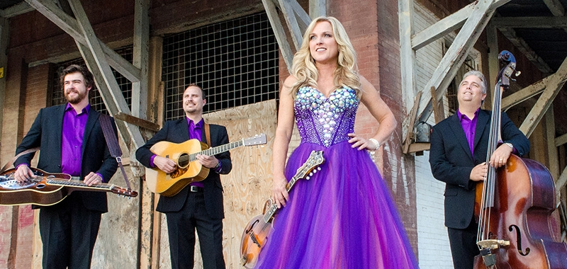 Rhonda Vincent is just one of the many bluegrass stars who have performed at Silver Dollar City's Bluegrass & BBQ festival in Branson, Missouri.