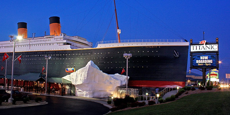 The Titanic Museum is just one of 9 attractions included in the popular Branson Attraction Pass!