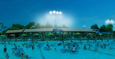 Night Water at White Water Branson from July 15 - August 12, 2017
