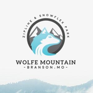 "Branson Zipline & Canopy Tours will now be known as ""Wolfe Mountain: Zipline & Snowflex Park"""