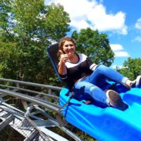 Ride Branson's Mountain Coaster!