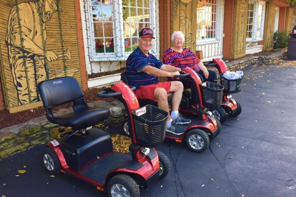Those visiting Branson, Missouri can rent a wide variety of scooters and wheelchairs while they are in town.