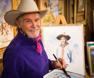 Buck Taylor and other Western artists share their beautiful paintings and artwork!