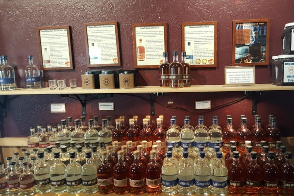 Copper Run Distillery offers locally-made spirits with tastings, tours, and more!