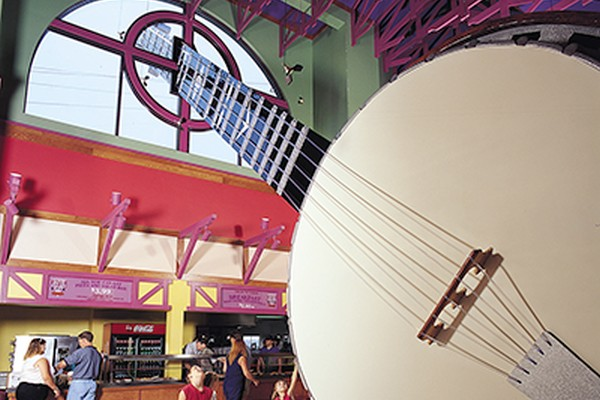 "Grand Country is home to the ""World's Largest Banjo"""