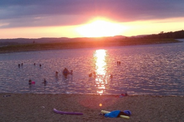 Moonshine Beach offers swimming and relaxing areas along Table Rock Lake