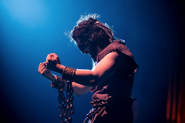 "Sight & Sound Theatre ""Brings the Bible to Life"" with their multi-million dollar shows like Samson."