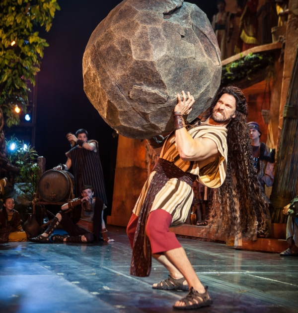 The Story of Samson Comes to Life at Sight & Sound Theatre in Branson, MO in 2018!