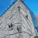 Outdoor Rock Climbing Wall!