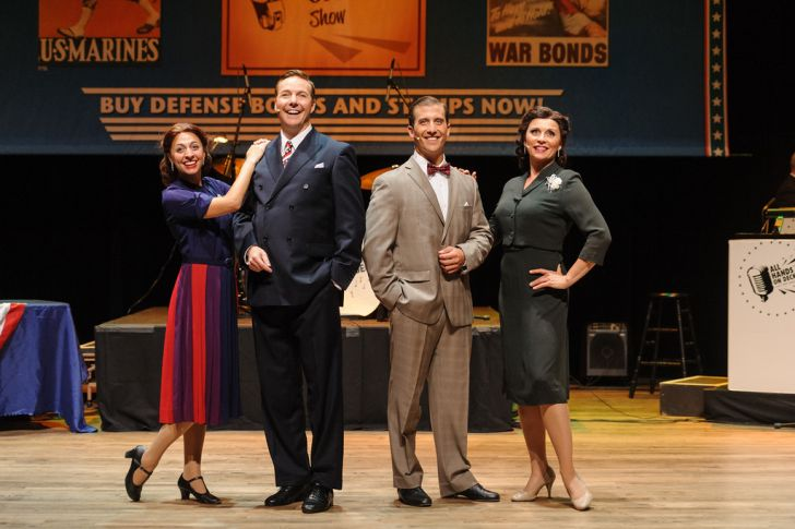 """America's #1 Patriotic Show"" recreates a 1942 roadshow and radio broadcast - with more than 40 songs, costumes, singing, and dancing in a musical revue-style stage production."
