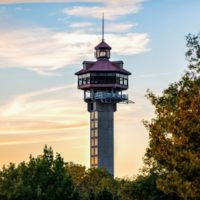 The Area's Highest & Largest Observation Tower!