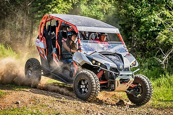 Shepherd of the Hills' new ATV rides offer guests an exciting off-road adventure!