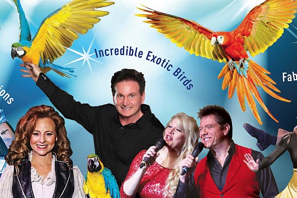 Magicians Dave & Denise Hamner are featured acts as part of their Hamners' Ultimate Variety Show