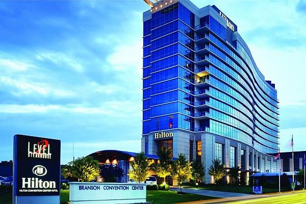 Sitting Across The Street From Branson Landing Hilton Convention Center Hotel Has Restaurants