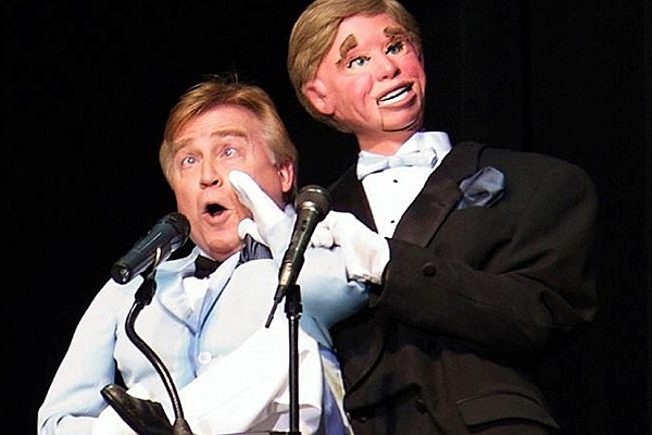 Ventriloquist and comedian Jim Barber brings his new dinner show to the on-site theatre at Shepherd of the Hills.