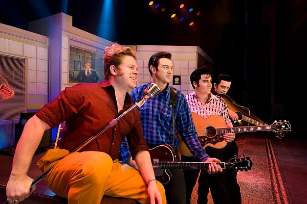 Million Dollar Quartet recreates the famous Sun Studios' recording session that occurred between Johnny Cash, Elvis Presley, Carl Perkins, and Jerry Lee Lewis!