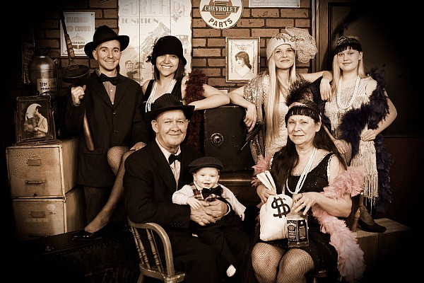 Get a FREE old-time photo for up to 6 people when you book something with Branson Travel Office!