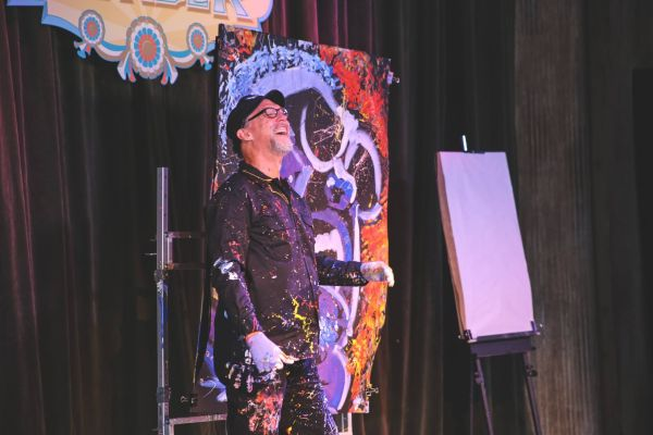 Speed painter Dan Dunn is just one of a handful of acts and performers featured this year at Silver Dollar City's Festival of Wonder