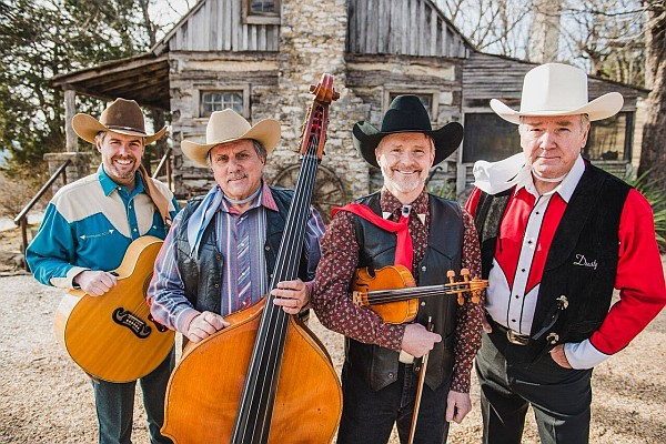Country, cowboy, and Western music legends the Sons of the Pioneers are scheduled to perform - sharing some of their biggest hits and your favorite songs!