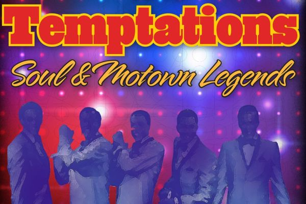 Performing at the God & Country Theatre, the Temptations Motown Legends show is a throwback to an era of soul and the best Motown music!