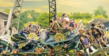 Time Traveler Roller Coaster at Silver Dollar City is Now Open!