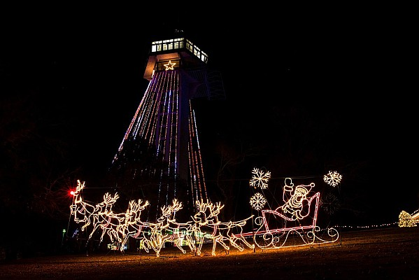 The Trail of Lights is Branson's largest and most popular Christmas light display.