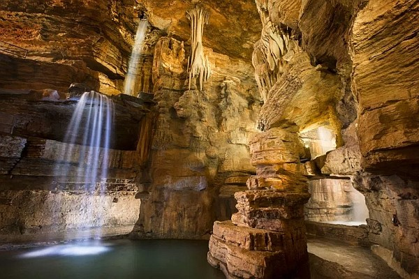 The Lost Canyon Cave & Nature Trail at Top of the Rock is one of the most breathtaking and incredible tours of the Ozarks found anywhere.