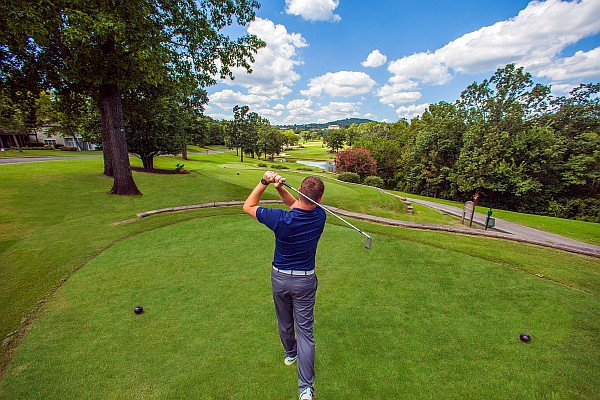 "Pointe Royale is located just 5-10 minutes south of ""The Strip"" and is considered one of the best golf values in Branson."