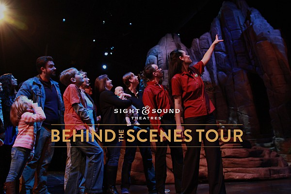 Branson's Sight & Sound Theatre offers special tours of the incredible $60+ million, 339,00 square foot venue!