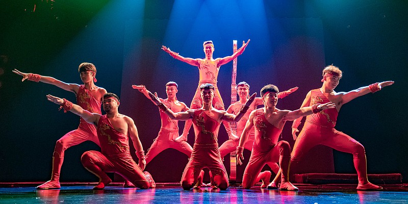 The Amazing Acrobats of Shanghai feature some of the most incredible acrobatics and feats of strength, agility, and dexterity you will ever see!