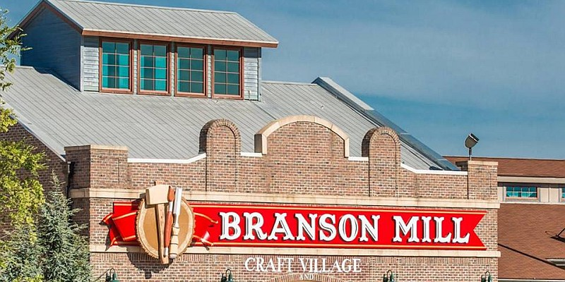 The Branson Mill Craft Village features artisans' work, unique shops, and one-of-a-kind stores.