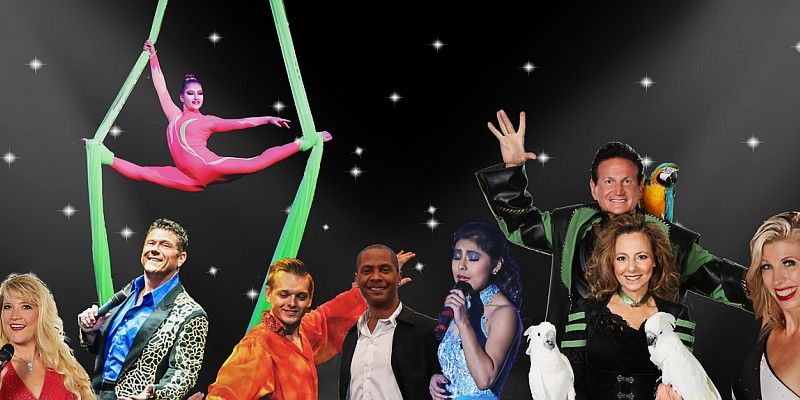 The Hamners' Unbelievable Variety Show features incredible singing, dancing, choreography, acrobatics, magic, comedy, and more!