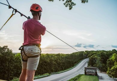 Zipline Canopy Tours at Shepherd of the Hills