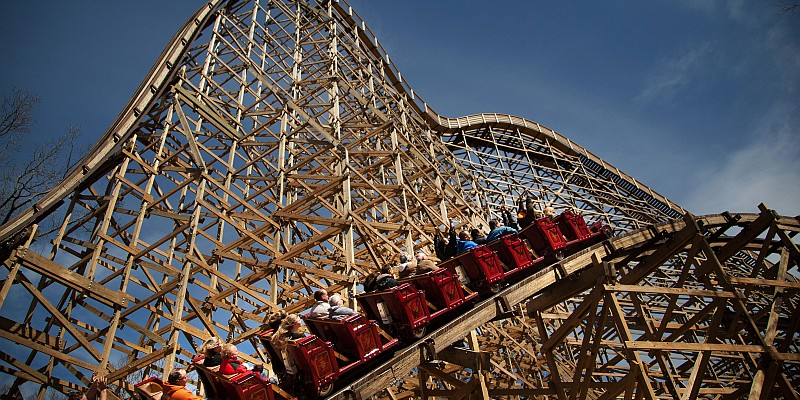 Although Branson's Celebration City theme park is no longer operating, guests can still visit the area's most popular amusement park Silver Dollar City for rides, attractions, shopping, and food.