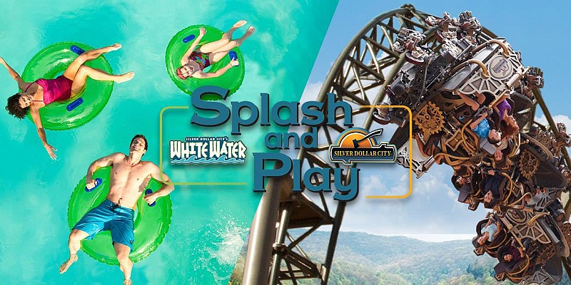 Splash & Play passes offer 3 days of unlimited visits to White Water and Silver Dollar City, available through September 3, 2018