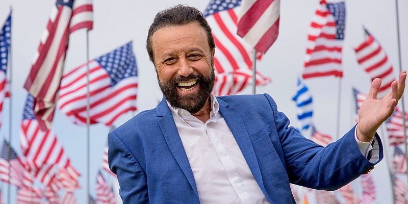 Famous Russian comedian Yakov Smirnoff returns to his very own theatre in Branson, MO!