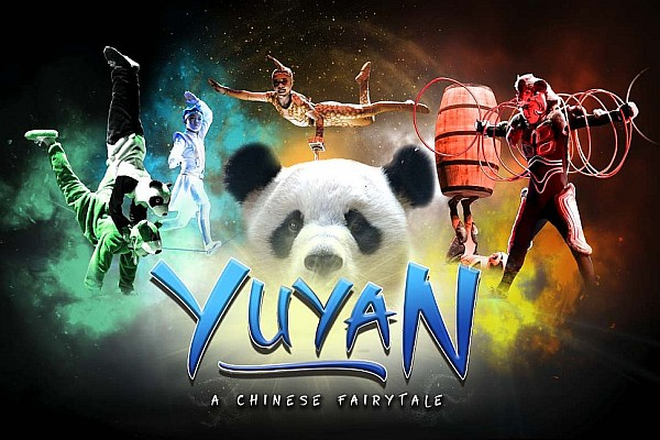 YUYAN is a brand-new show in 2018 that features the amazing talents of some of the most incredible Chinese acrobats and performers you will ever see!