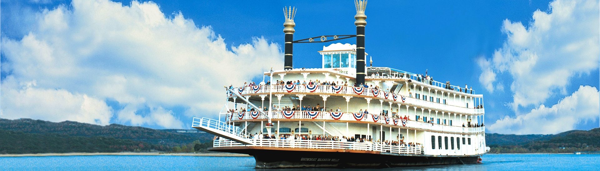 showboat branson belle - dinner cruise & show - branson travel office