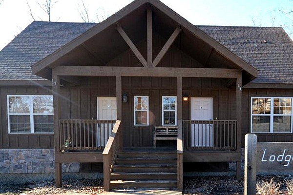 Stonebridge and The Cabins at Grand Mountain both offer beautiful, one-bedroom cabins available for rent in Branson.