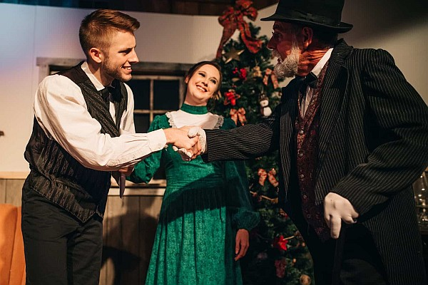 A Shepherd's Christmas Carol is an all-new show at Shepherd of the Hills!