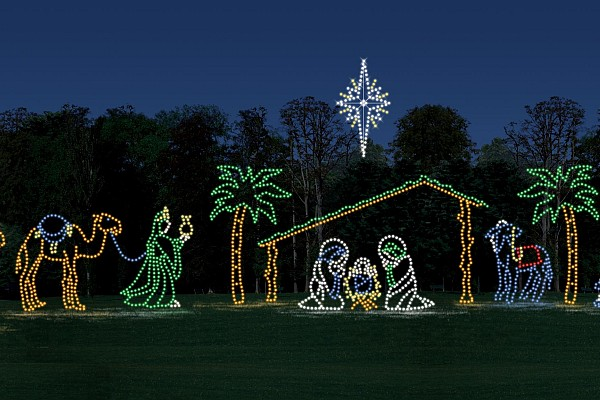 Branson offers several Christmas light displays to visit during the winter months!
